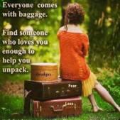 Everyone has baggage