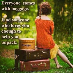 Everyone has baggage